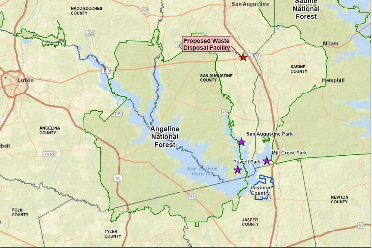Residents around Lake Sam Rayburn are seeking to join in opposition against an oil and gas waste site proposed for San Augustine County that they believe may pollute the headwaters that feed the lake.