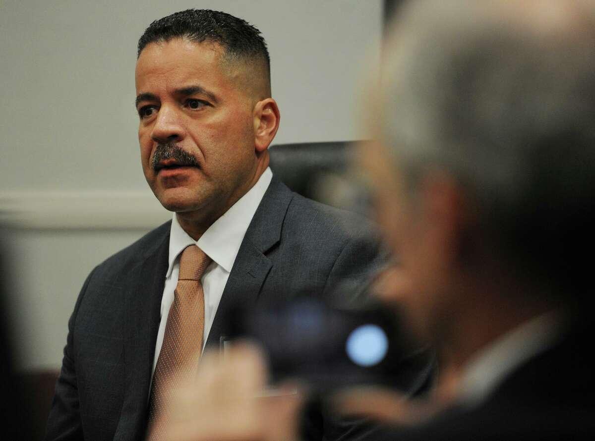 New Haven Assistant Chief Luiz Casanova, finalist for the job of Bridgeport police chief