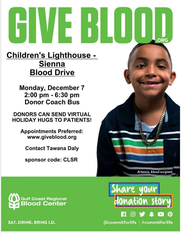 Donate blood this giving season