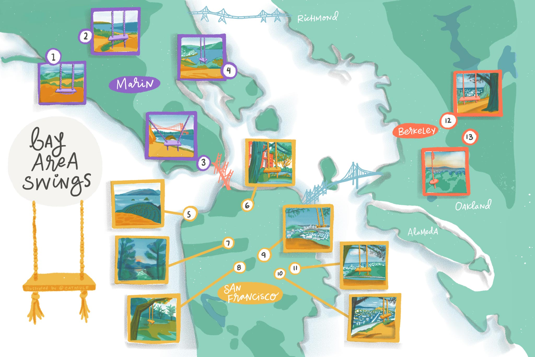 Bay Area Highway Map : This page shows the elevation/altitude information of san francisco bay area, ca, usa, including elevation map, topographic map, narometric pressure, longitude and latitude.