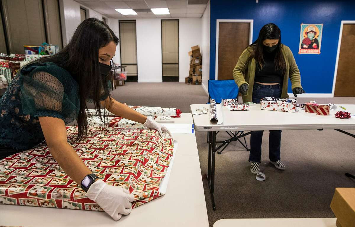 Sarahi Espinoza Salamanca (left) partnered with two nonprofits to start First of the Month, a rent fund.