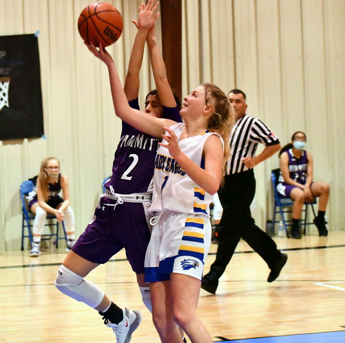 Plainview Christian Academy's basketball teams picked up a doubleheader sweep on Dec. 4, 2020 at PCA. The girls defeated Dimmitt JV 44-25 and the boys knocked off Amarillo Accelerate 63-51.