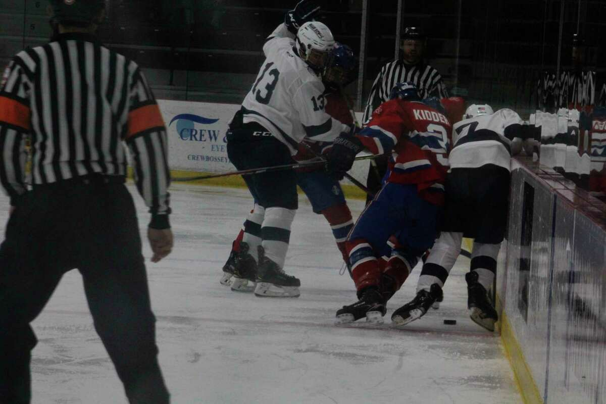 Grant Kidder (3) hopes to be a key player for Big Rapids' hockey team this season. (Pioneer file photo)
