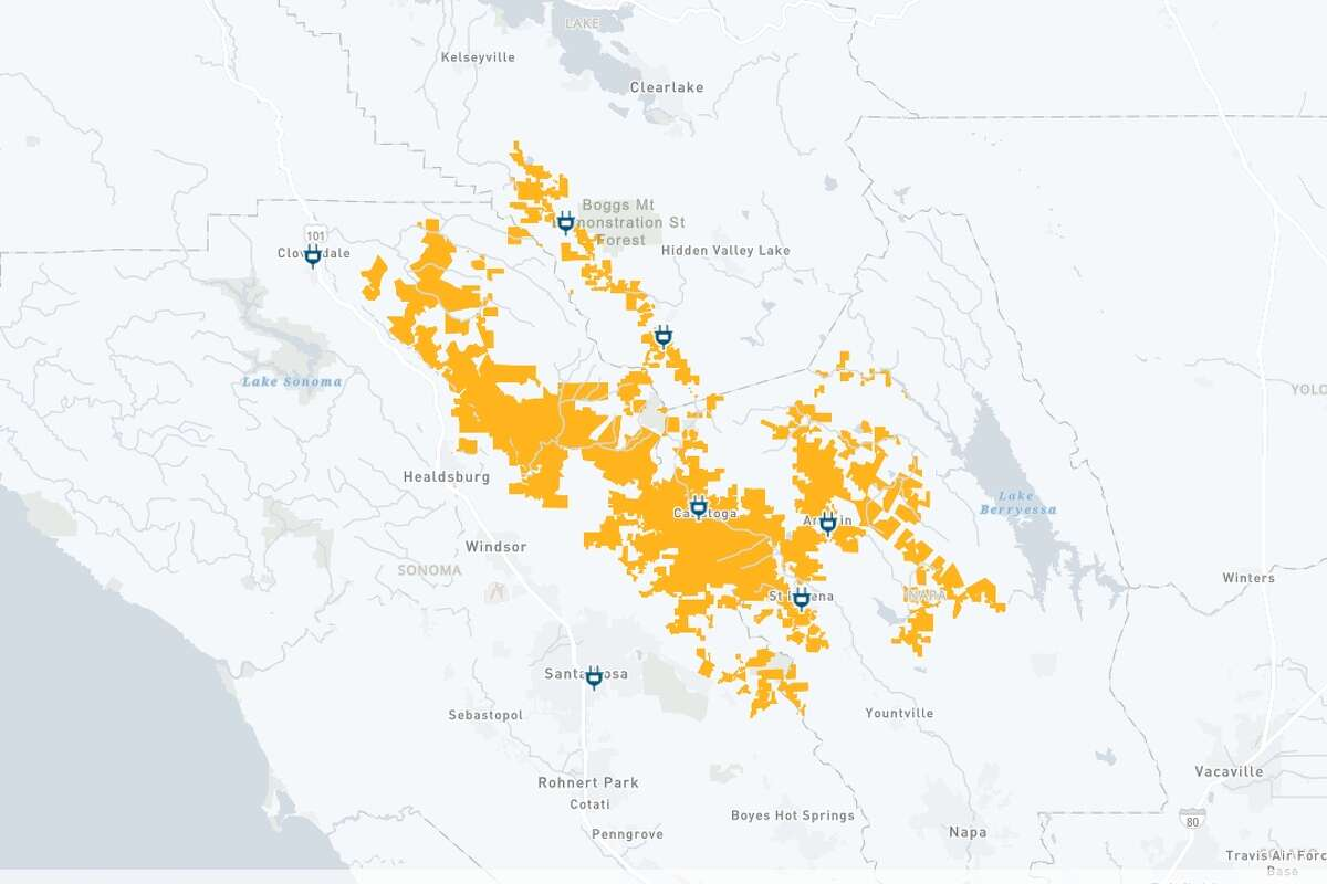 PG&E has notified customers in targeted portions of 15 counties and five tribal communities about a potential power shutoff starting early Monday morning Dec. 7.