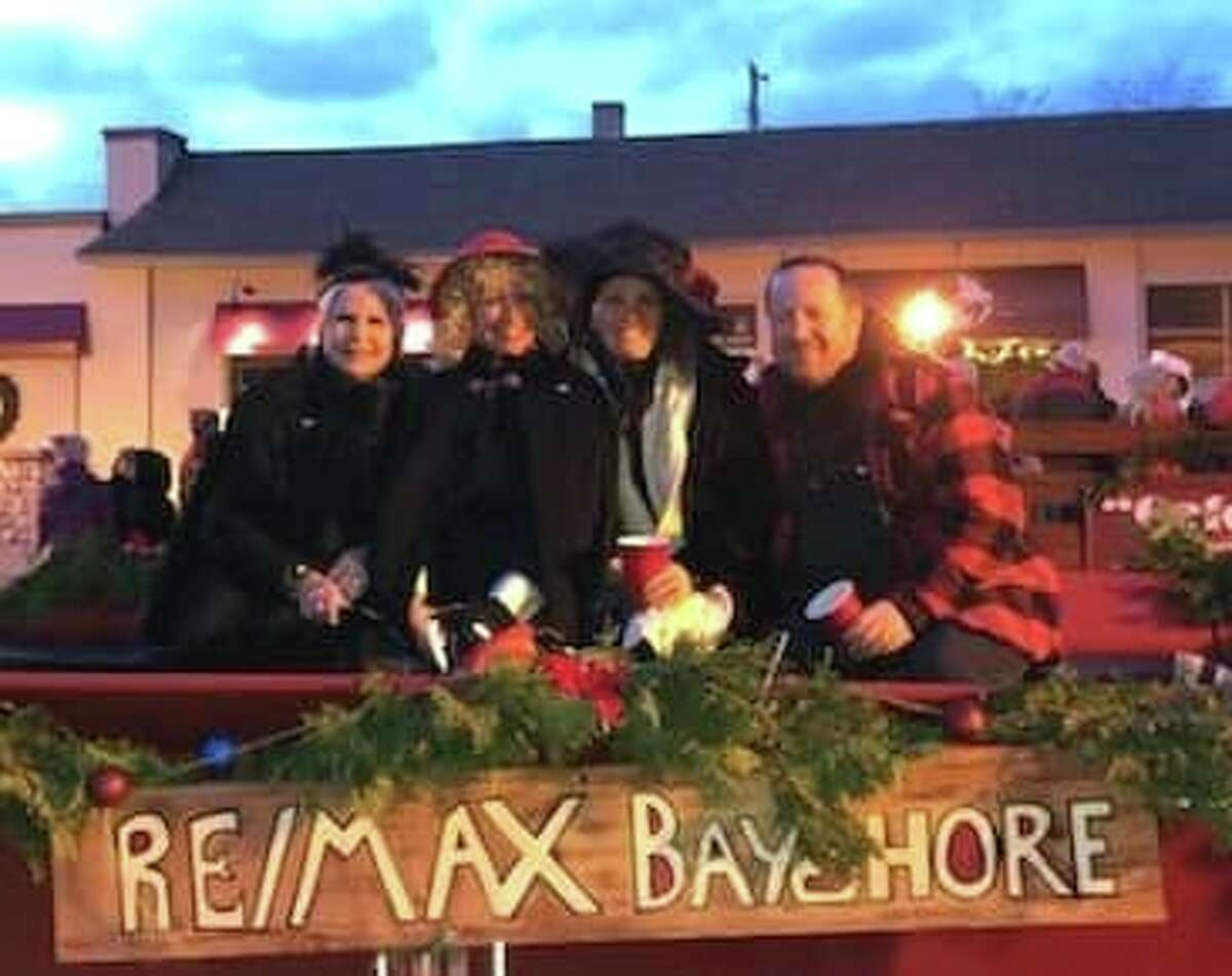 The RE/MAX Bayshore float in the 2019 Sleighbell Parade. (Submitted by Danielle Funderburk)