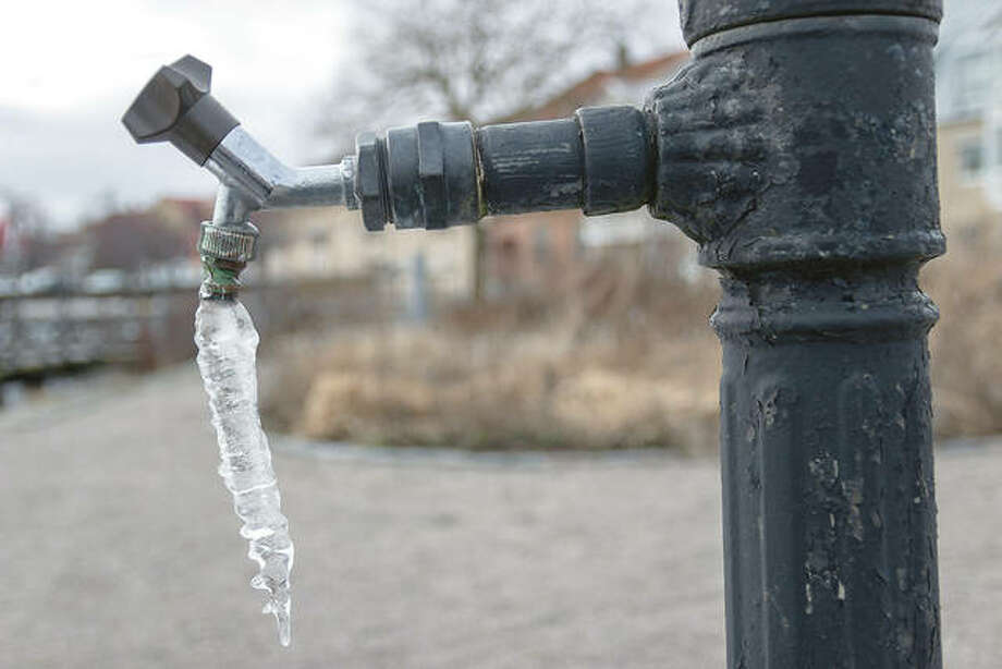 Water expands as it freezes, which can cause pipes that are not prepared for winter to crack and burst. Photo: Getty Images