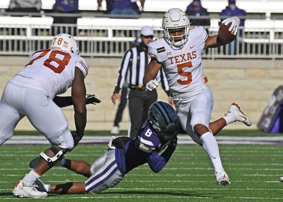 Eight games into his UT career, true freshman running back Bijan Robinson has energized the ground game and the offense as a whole.