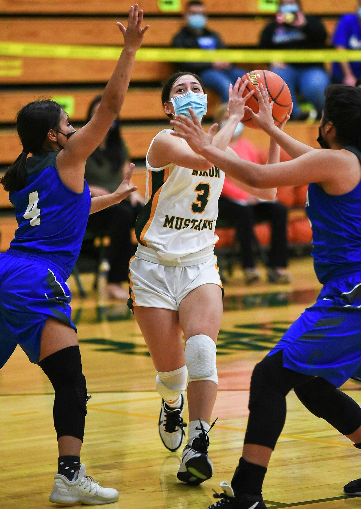 Dominique Lecea and the Nixon Lady Mustangs got their second win over Cigarroa on Saturday.