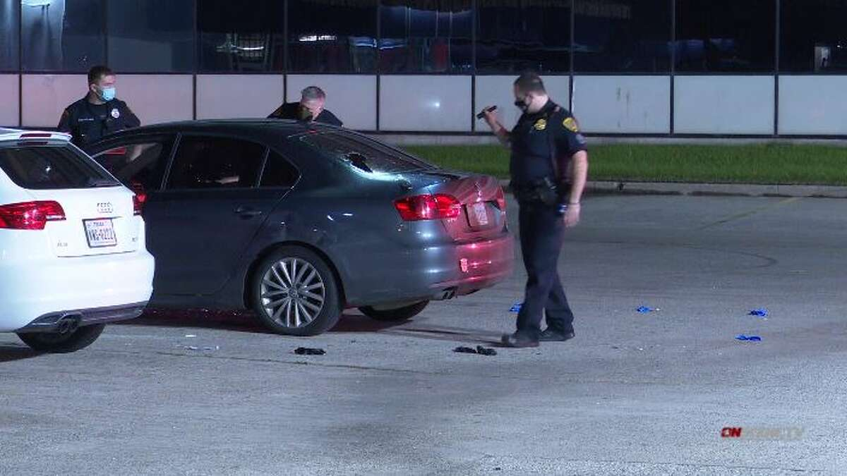 A man was shot and killed Sunday in the 400 block of North Sam Houston Parkway, according to Houston police.