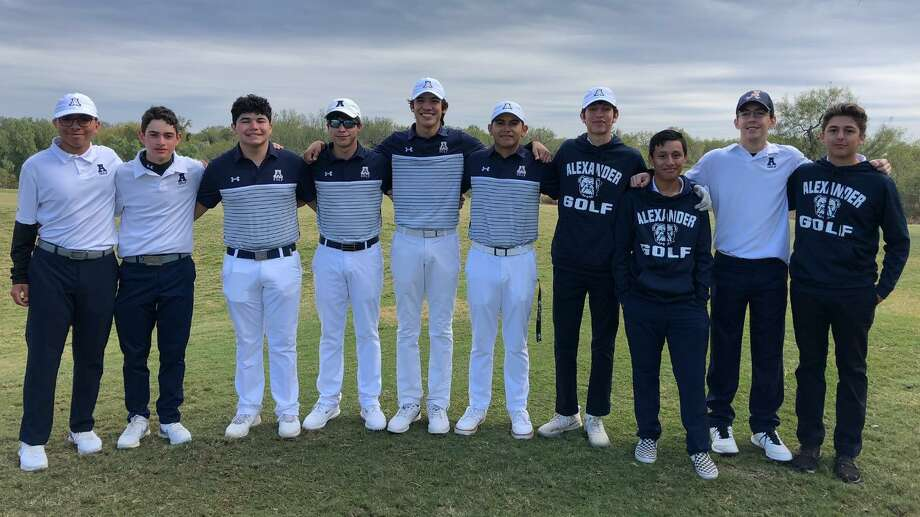 The Alexander boys' golf team placed first and third at the Jingle Bell Classic this weekend. Photo: Courtesy Of Alexander Athletics