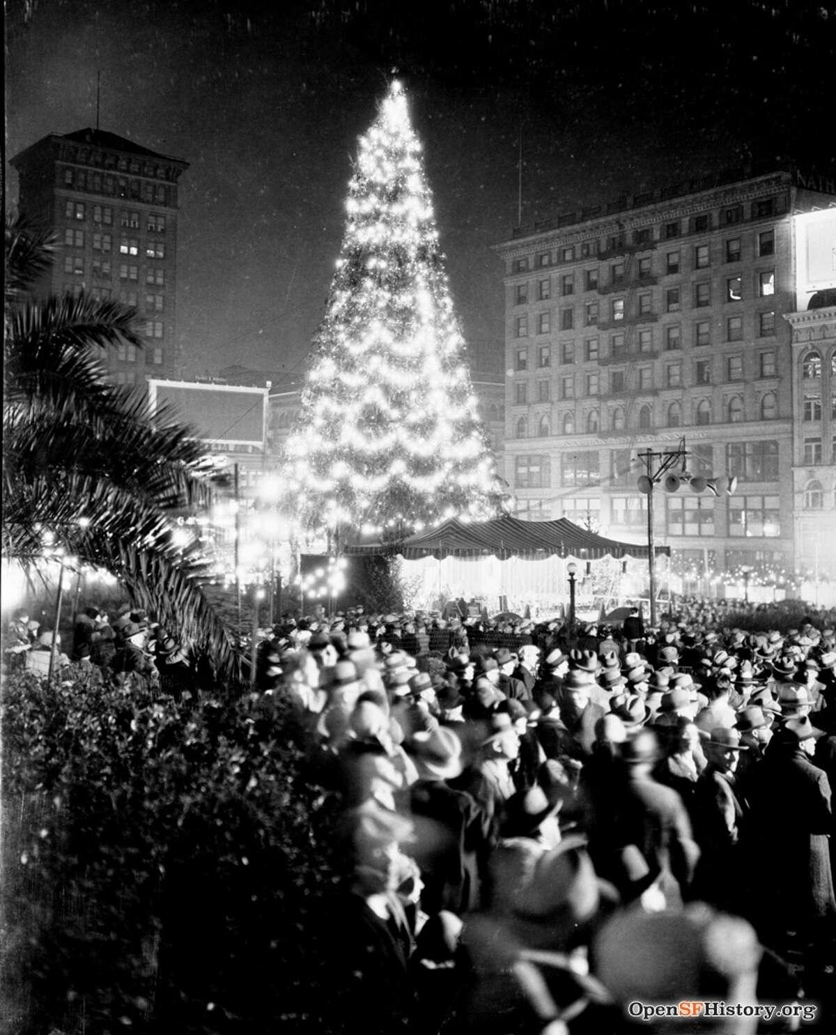 Union Square, San Francisco, 1929.