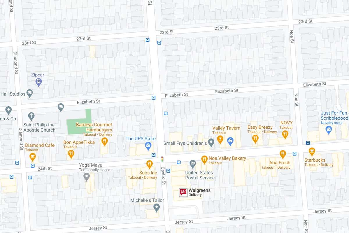 A shooting robbery was reported to the San Francisco Police Department just before 11 p.m. on Dec. 6, 2020, in the area of Castro and Elizabeth streets.