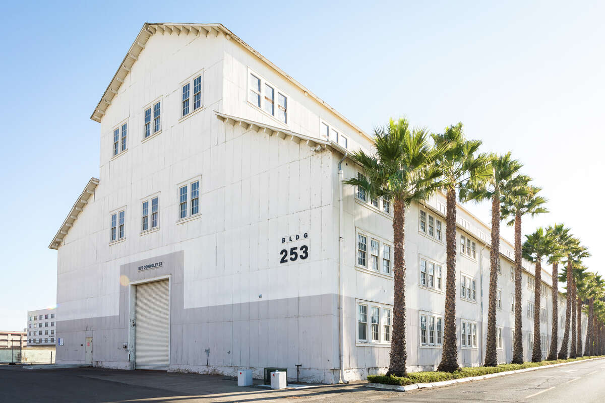 Mare Island, Vallejo, photographed Nov. 25, 2020, was a naval shipyard for almost 150 years.