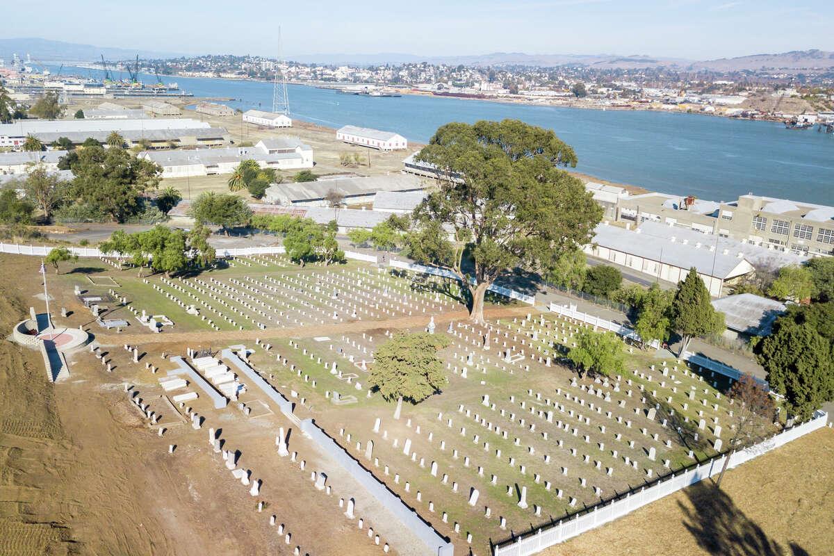 Mare Island Naval Cemetery, photographed Nov. 25, 2020.