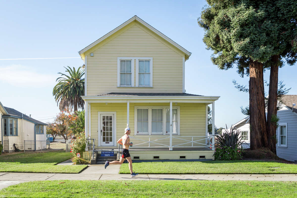 Once a bustling naval shipyard, Mare Island is now a serene escape, with naval mansions and historic buildings dotting the island.