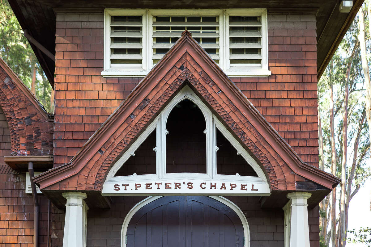 St. Peter's Chapel on Mare Island, shown Nov. 25, 2020, is the oldest naval chapel in the United States.