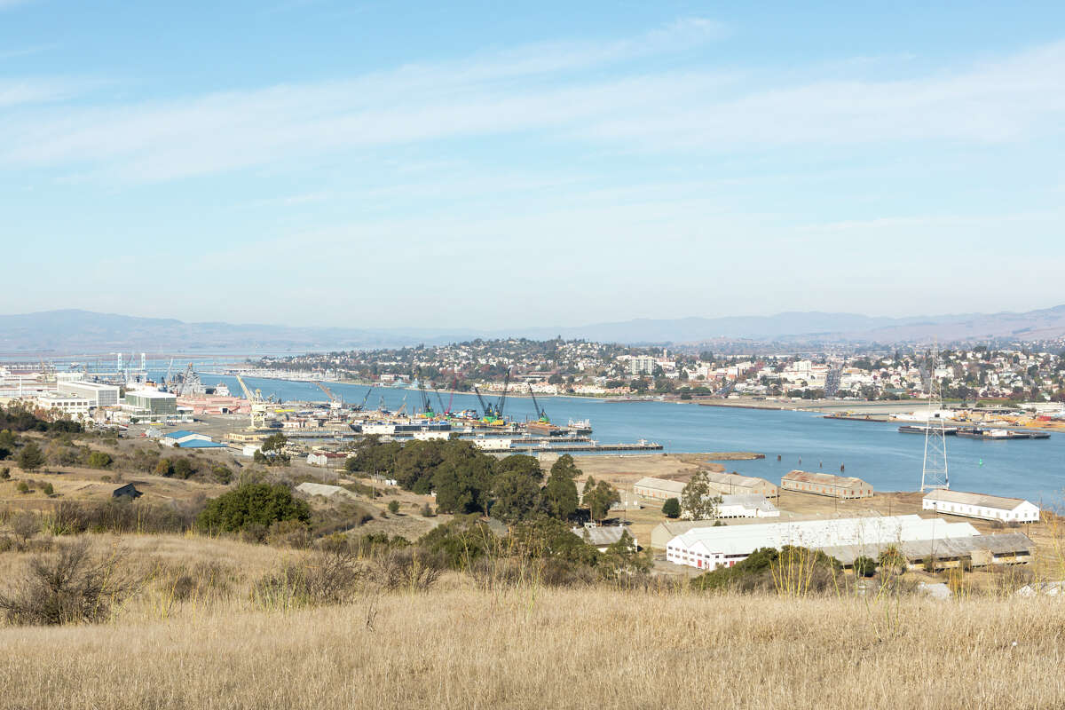 Views of Vallejo as seen from Mare Island, shown Nov. 25, 2020.