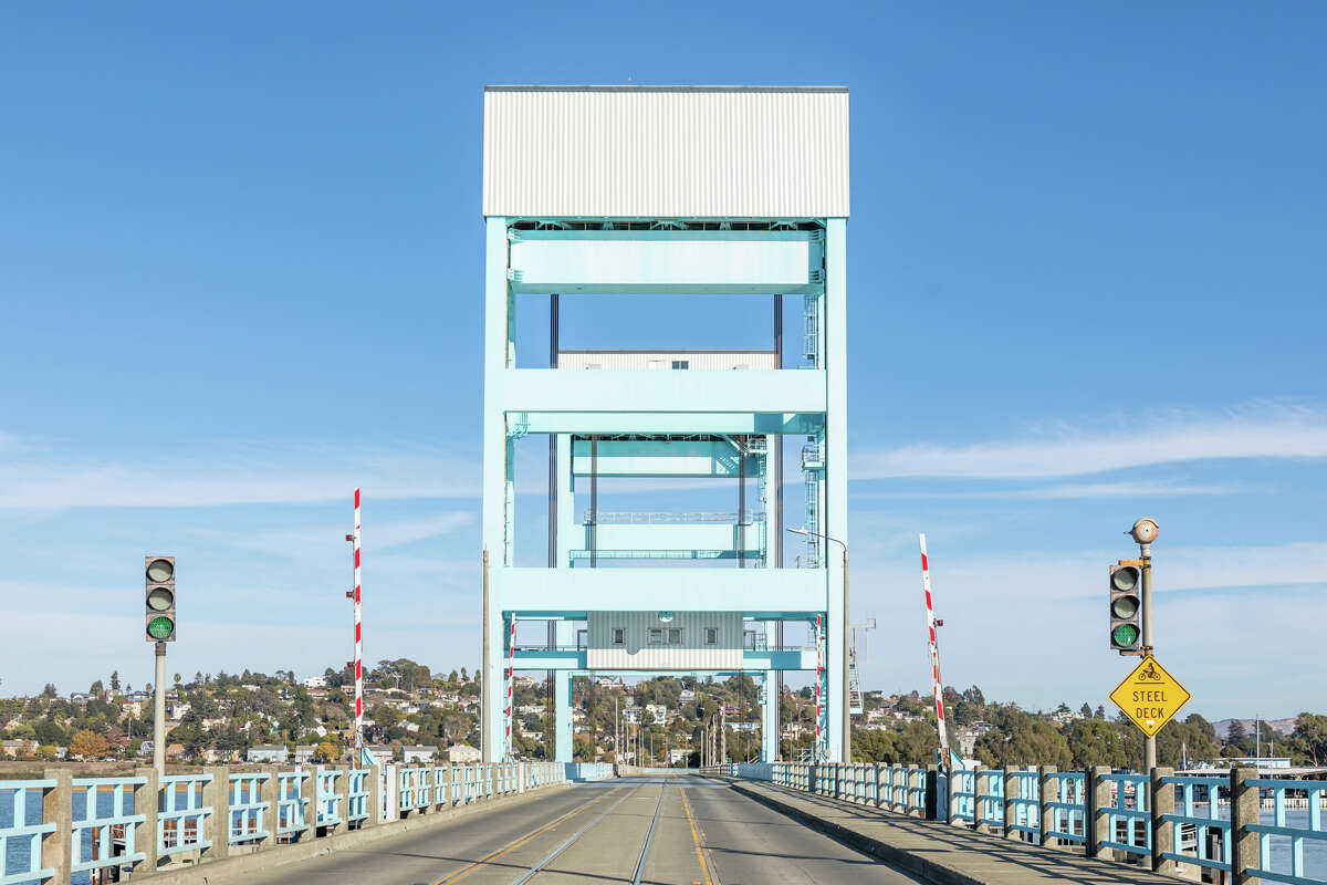 Crossing the Mare Island Causeway is like crossing a bridge into another world. Find more photos from Mare Island in the slideshow at the end of this story.