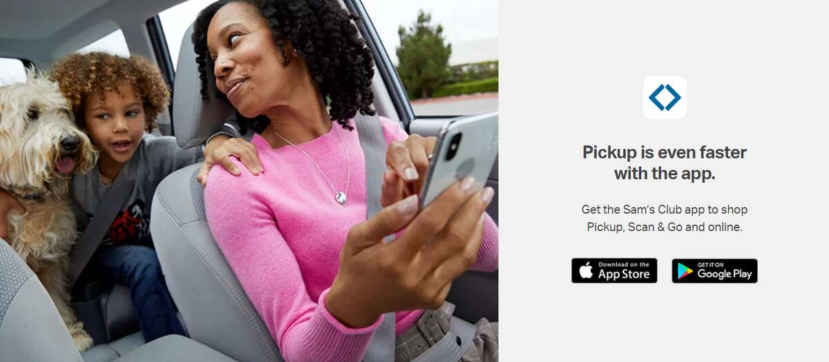 Download the Sam's Club app on the Apple App Store or get it on Google Play.