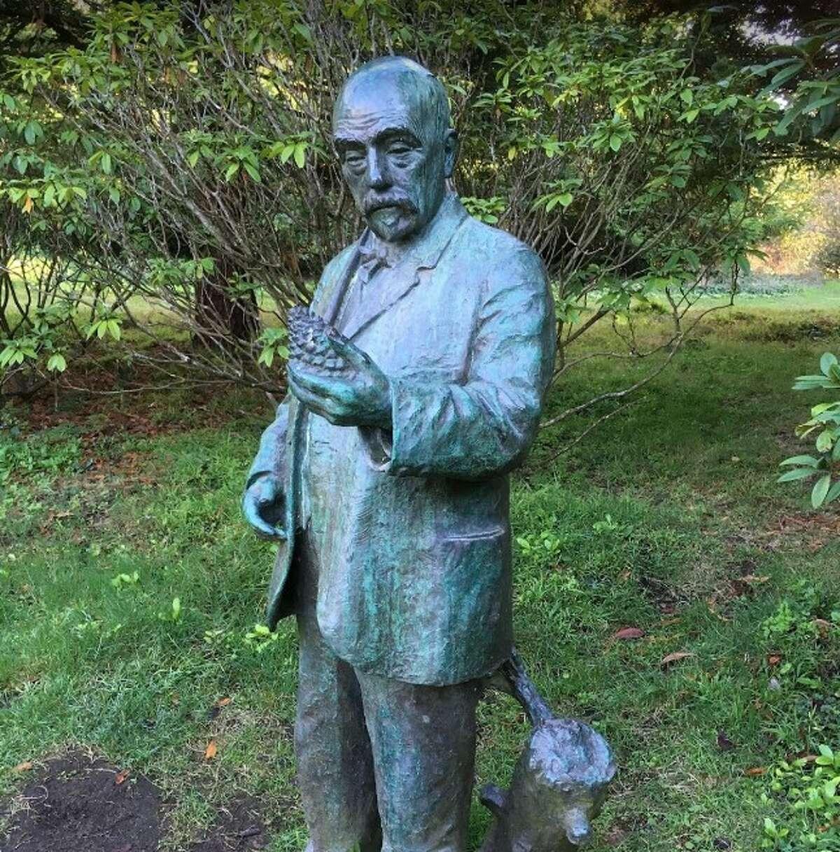Statue of John McLaren in Golden Gate Park.