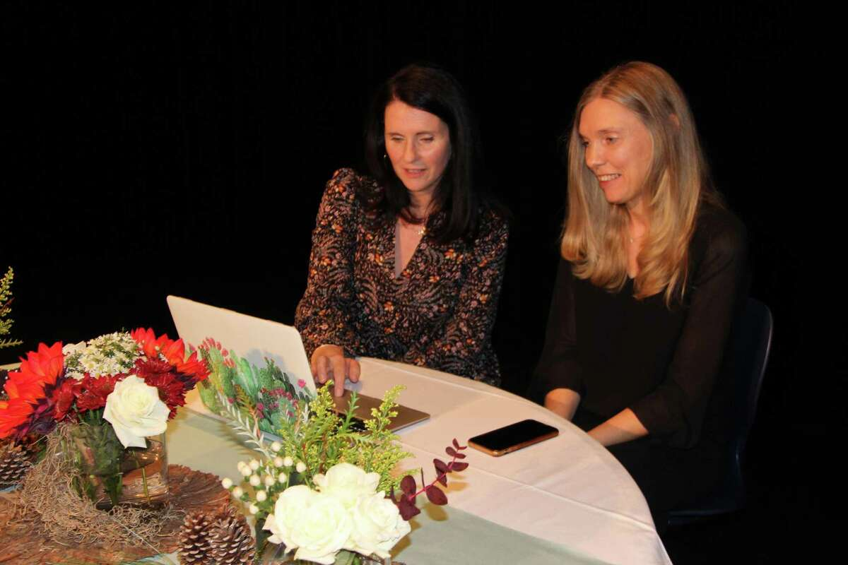 Lisa Hollingsworth and Malin Melin attended the Meet and Greet online with author Jesmyn Ward before this year's Signatures Author Series hosted by The John Cooper School.