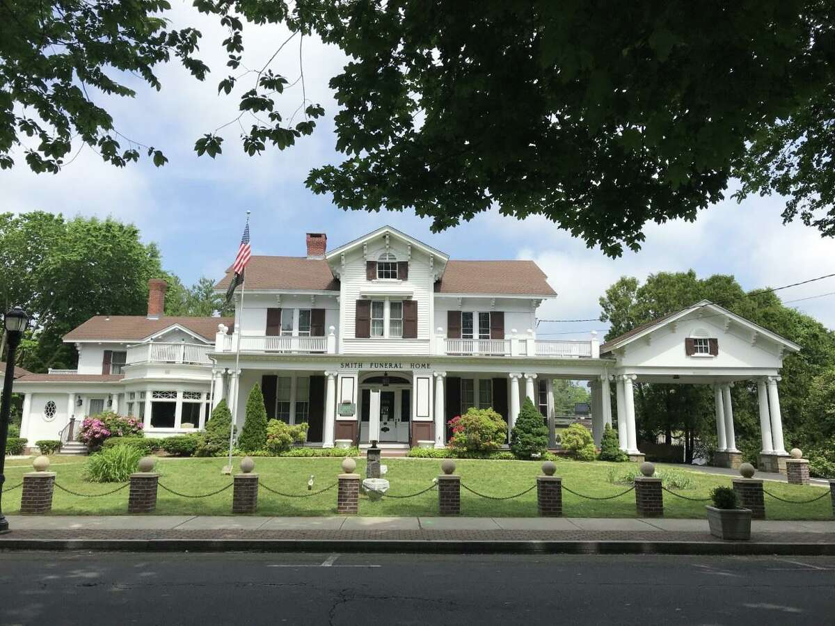 The Smith Funeral Home, founded by George J. Smith.