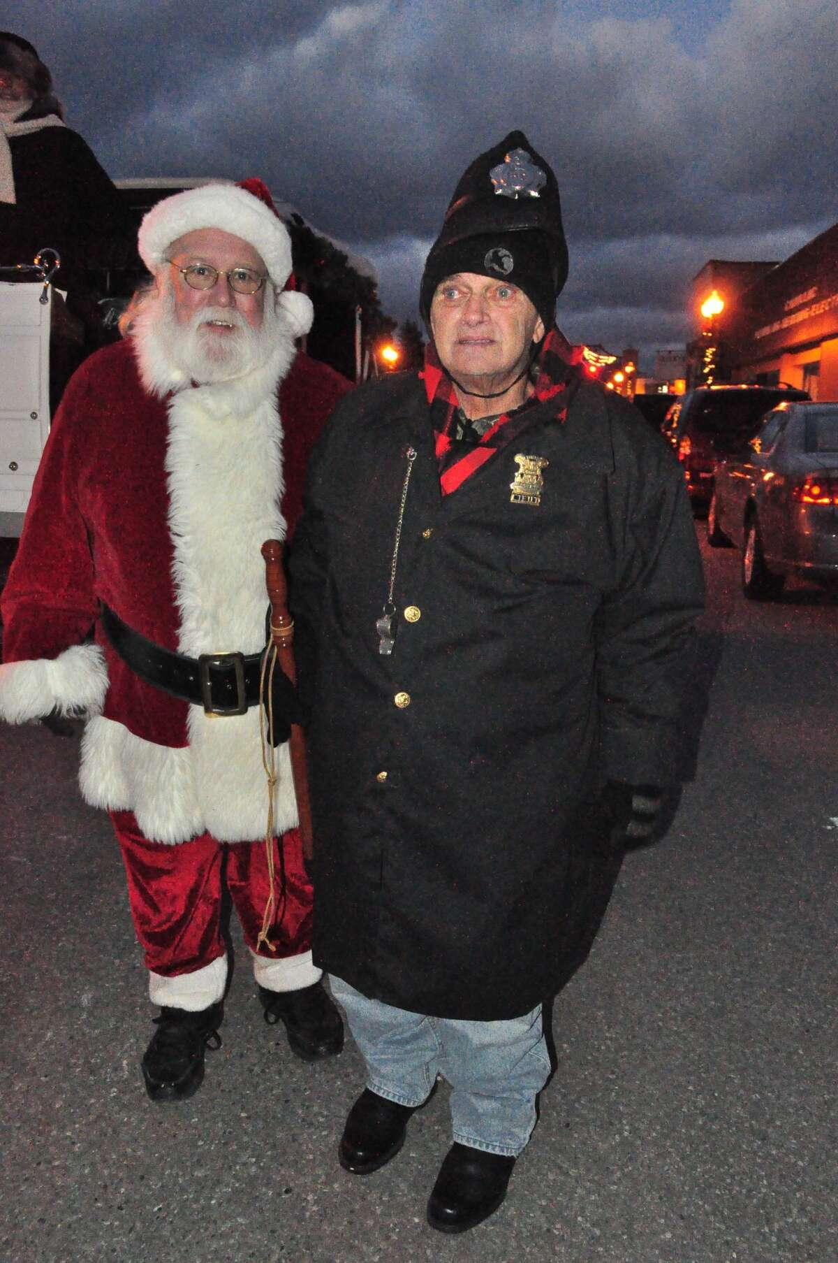 Bobby Stamp was known around Manistee as someone who spread Christmas cheer. In 2013, he was awarded an honorary badge at the Victorian Sleighbell Parade.