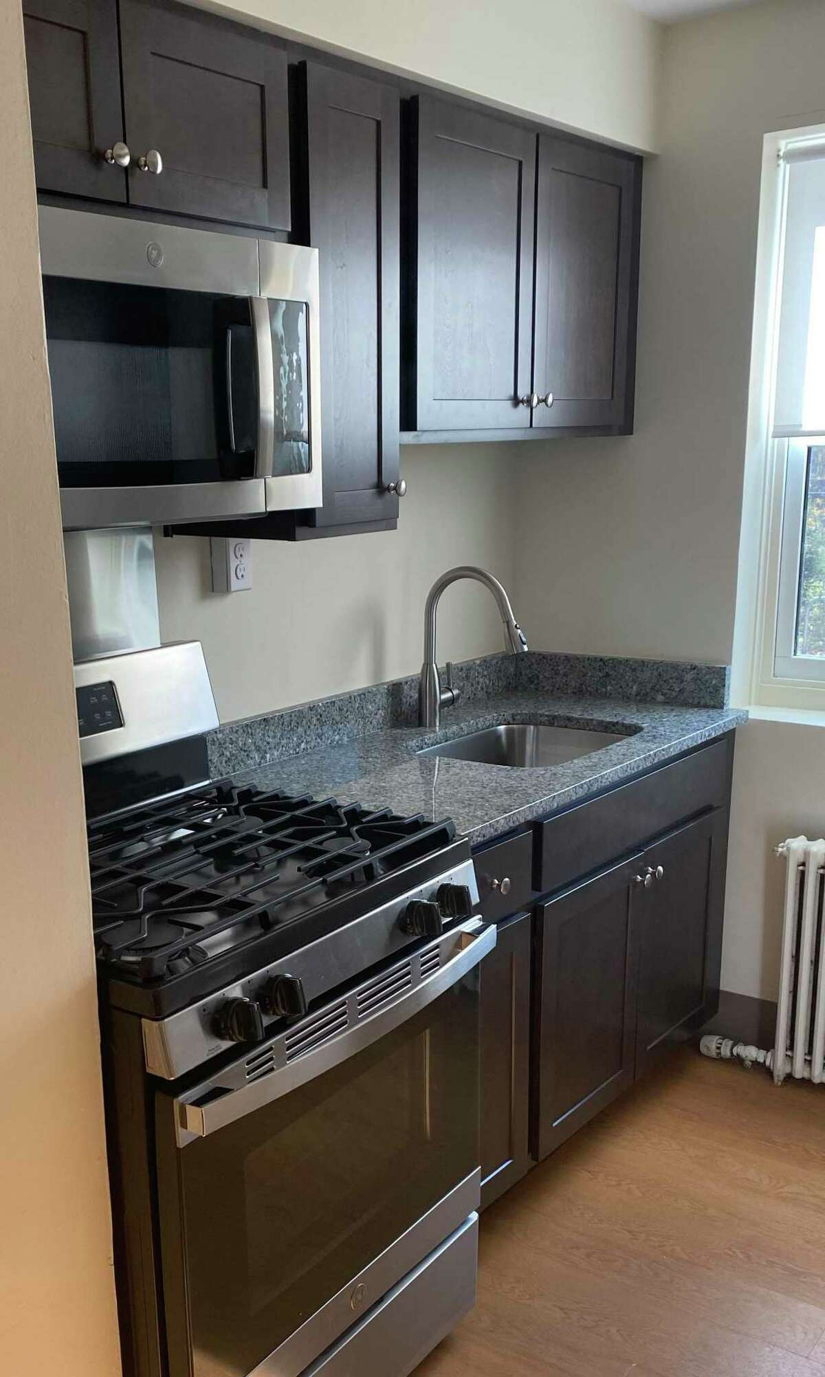 Greenwich Communities is putting the finishing touches on new kitchens for all 110 units in Wilbur Peck Court.