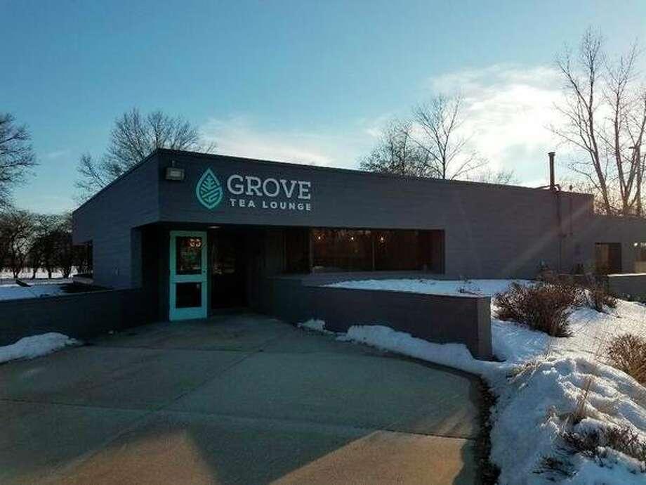 Grove Tea Lounge, 2405 Abbott Road, Midland. Drive-through. 989-486-1839 www.grovetealounge.com