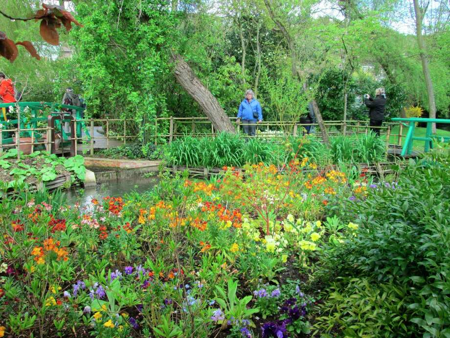 Monet planned the plantings in his garden so there was always something blooming for him to paint. The gardeners follow Monet's planting schedule to this day. (Courtesy photo)