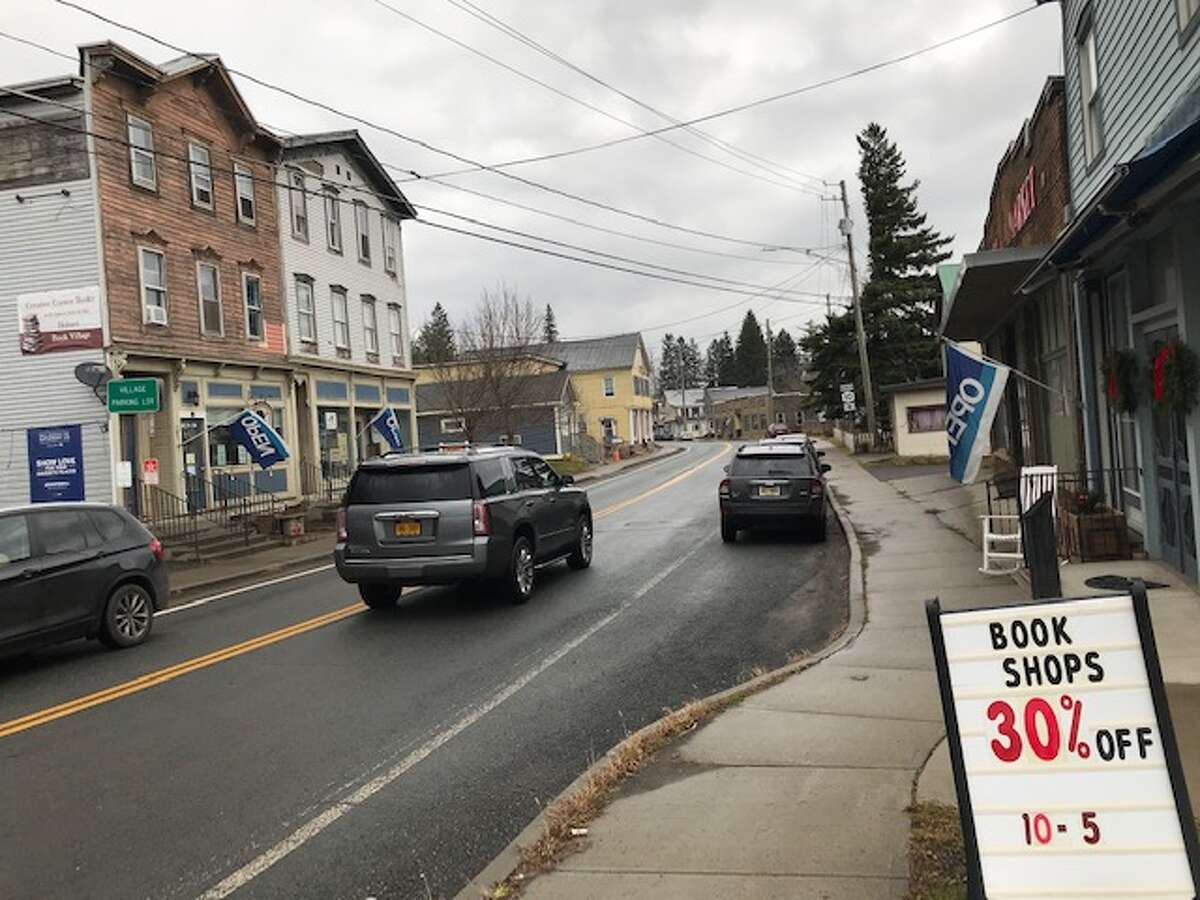 Hobart Book Village, with six used bookstores along Main Street, has shown that literature can transform a struggling Catskills village of fewer than 500 people.