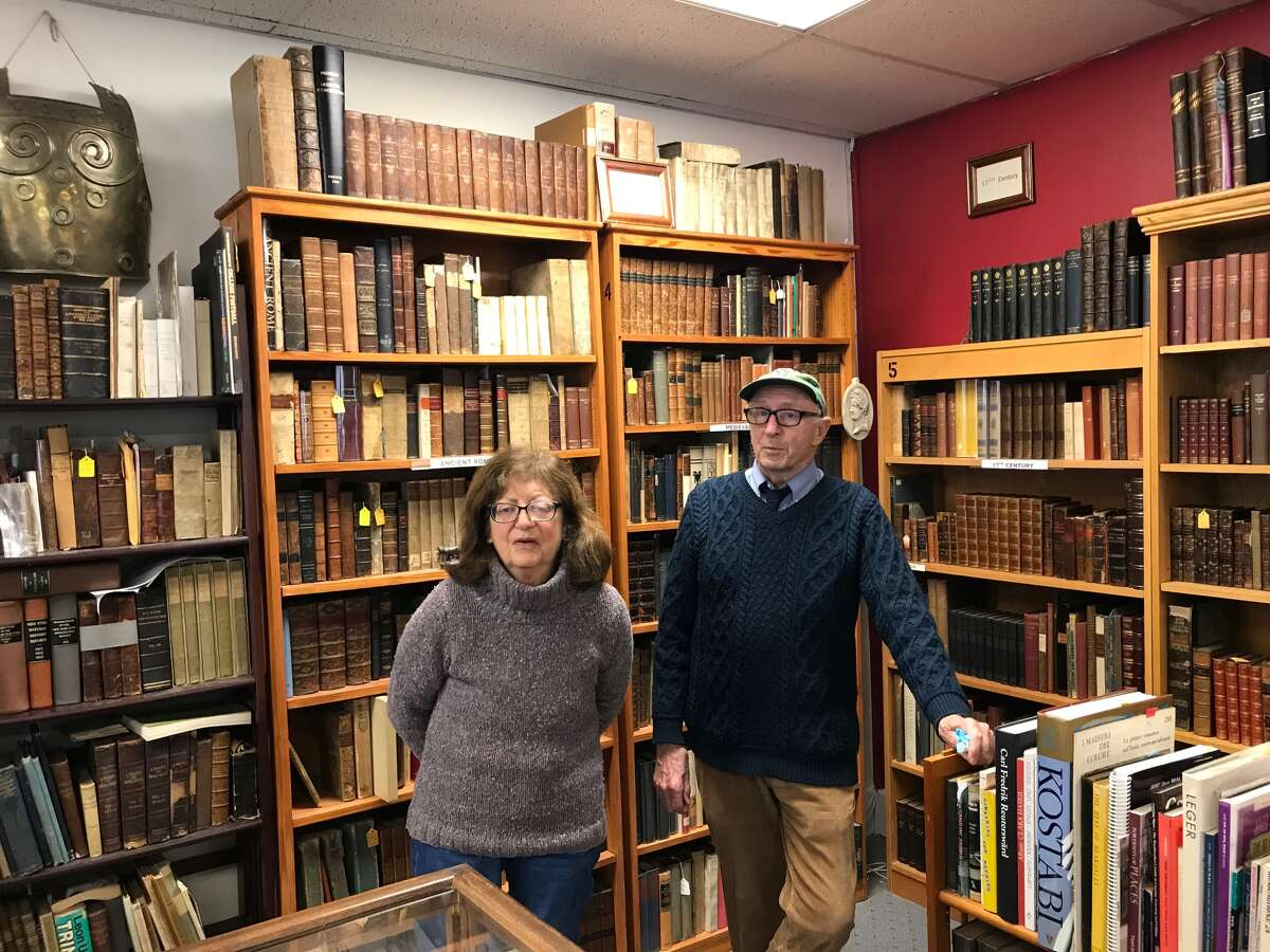 Diana and Bill Adams, a retired lawyer and physician, relocated from Manhattan 20 years ago and opened the first bookstore on Main Street. Six more followed and a seventh will open next year.