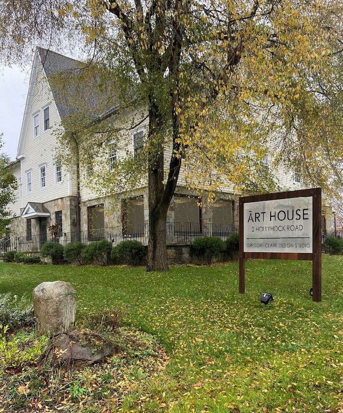 Art House, which sits at the intersection of Danbury Road and Hollyhock Road, is being proposed as a conversion from art studio and office space to apartments, several of which would be offered as affordable.