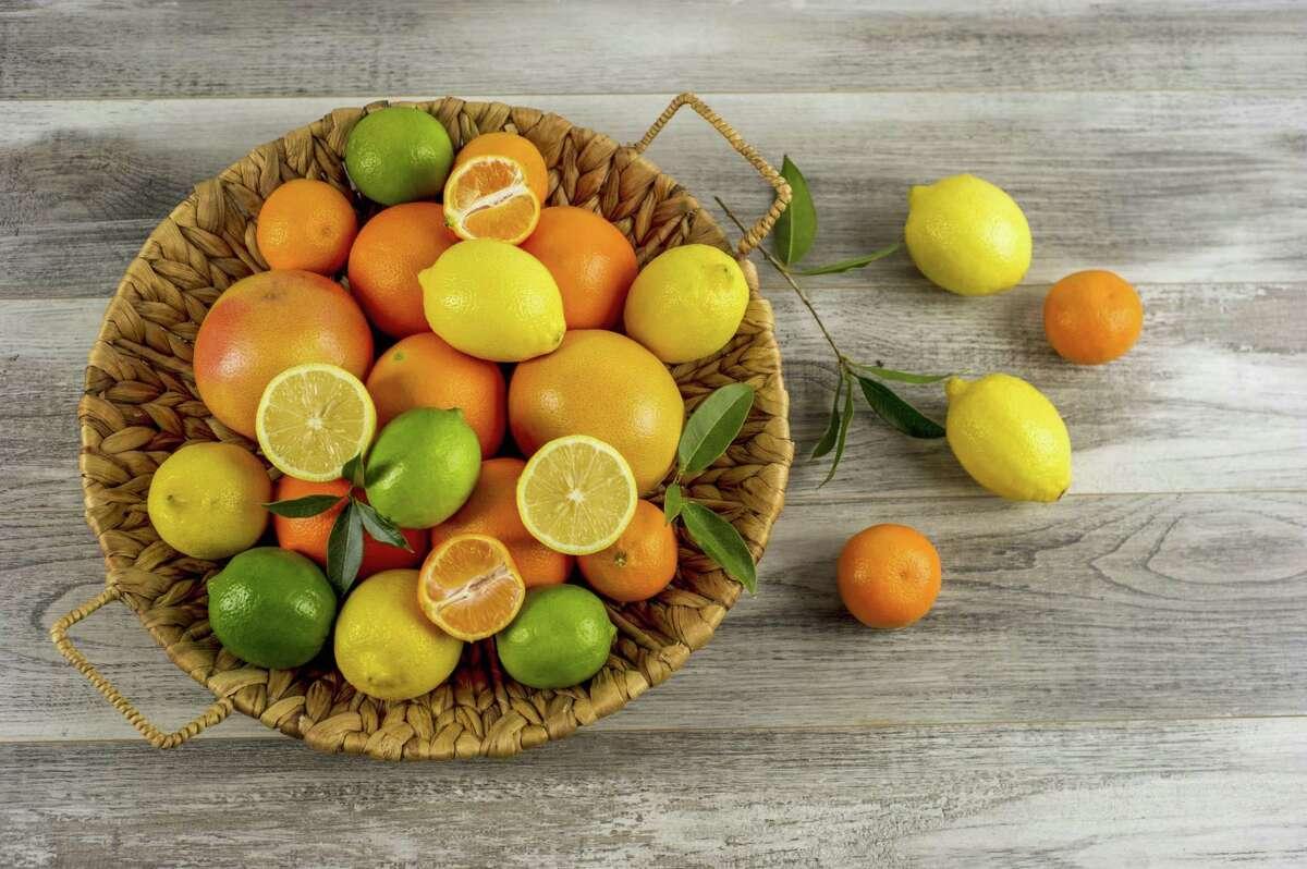 December citrus offers plenty of vitamin C.