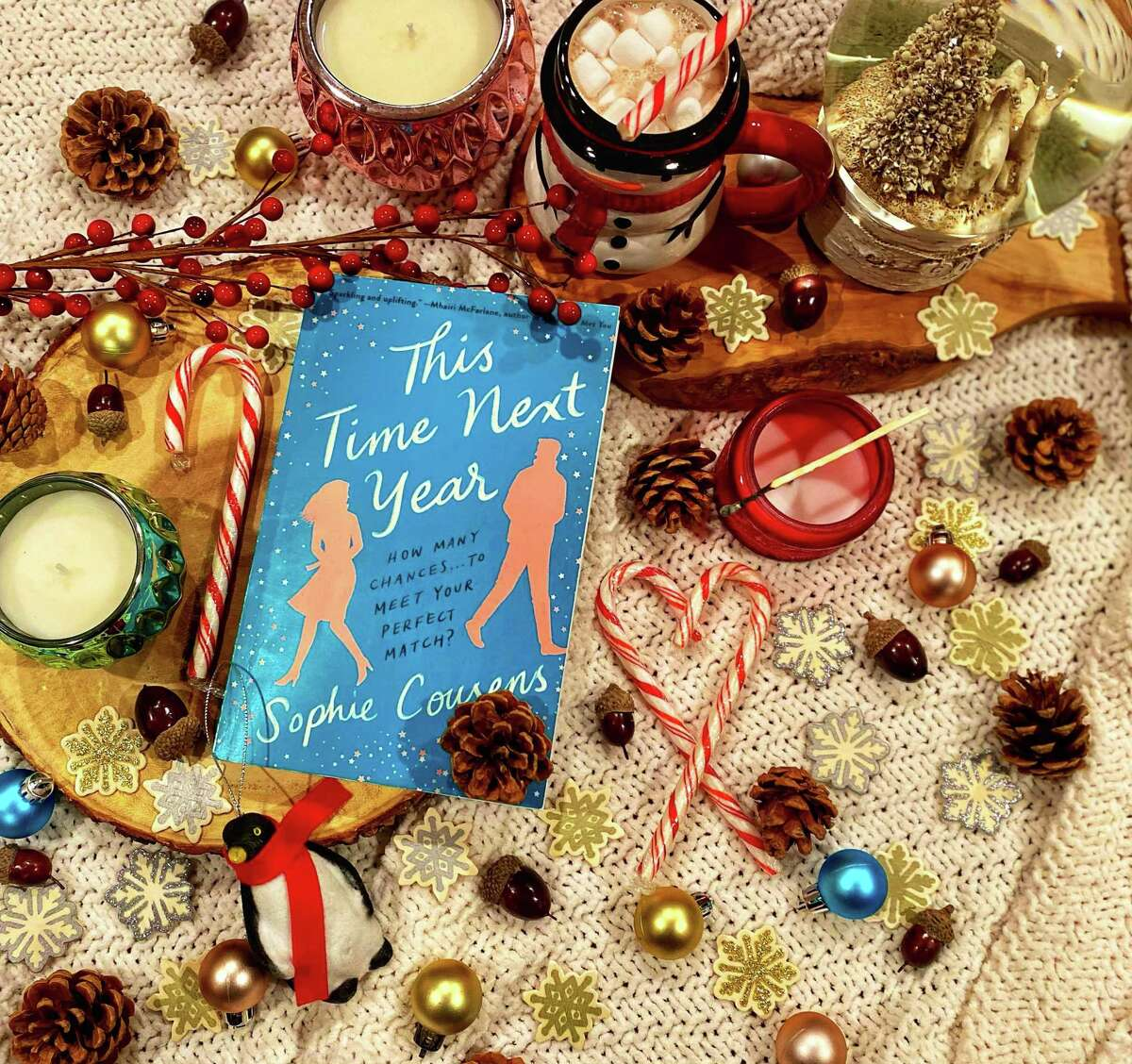 """""""This Time Next Year"""" is a sweet romantic comedy by Sophie Cousens."""