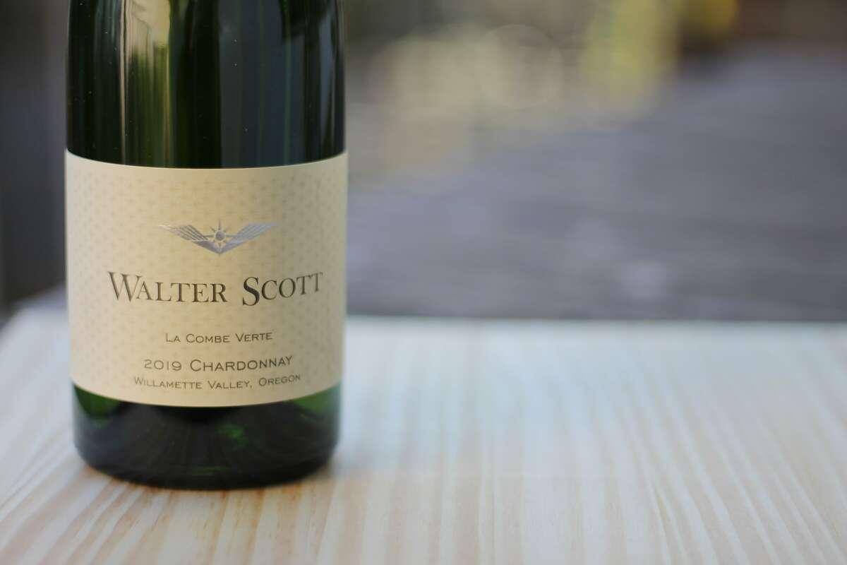 Walter Scott's 2019 La Combe Verte Chardonnay from Oregon.