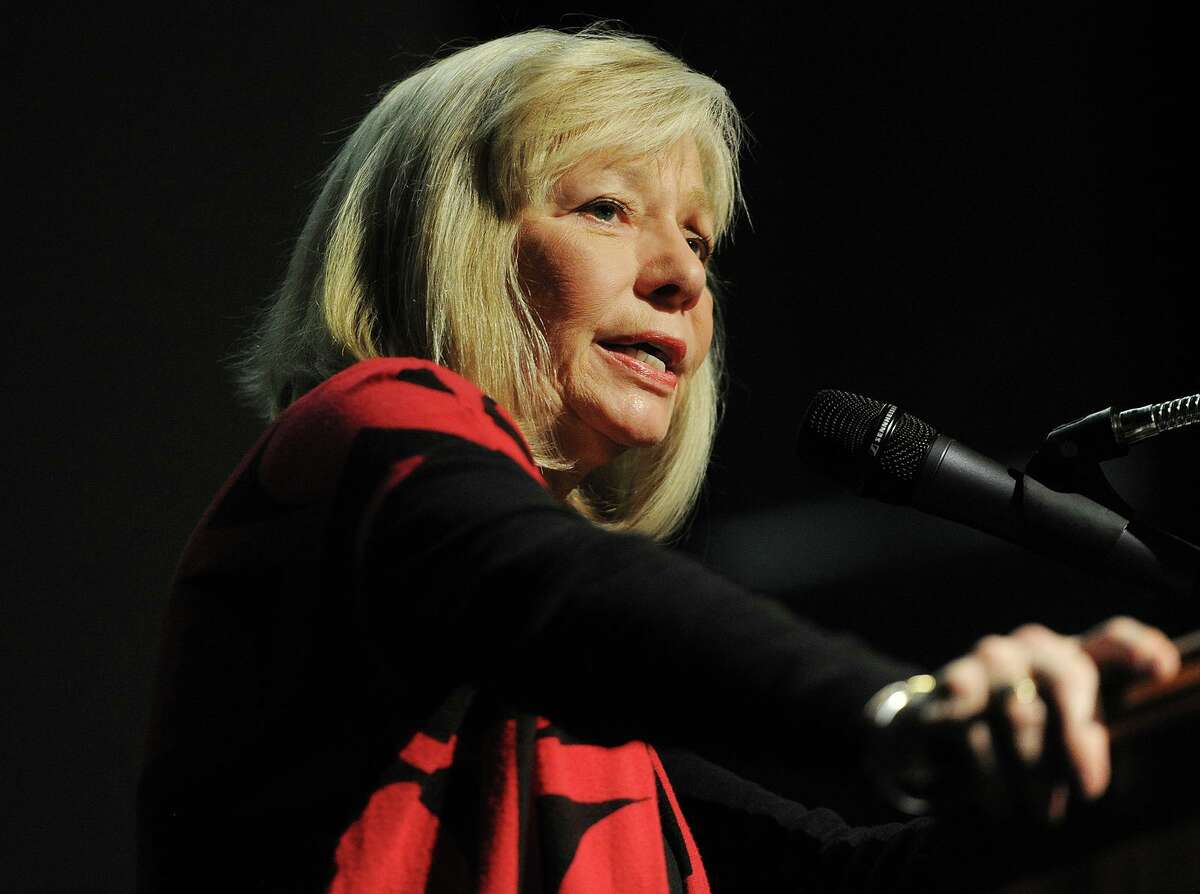 A file photo of Superintendent of Schools Janet Robinson in Stratford, Conn.