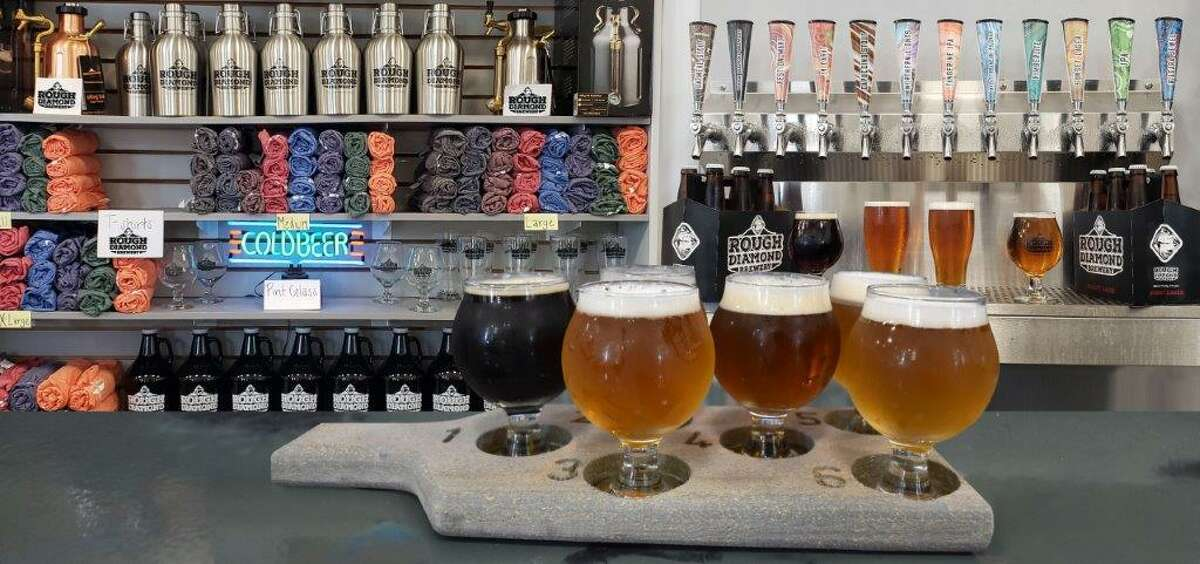 Three-year-old Rough Diamond Brewery in Spring Branch makes 12 different beers, with most ingredients imported from Germany.