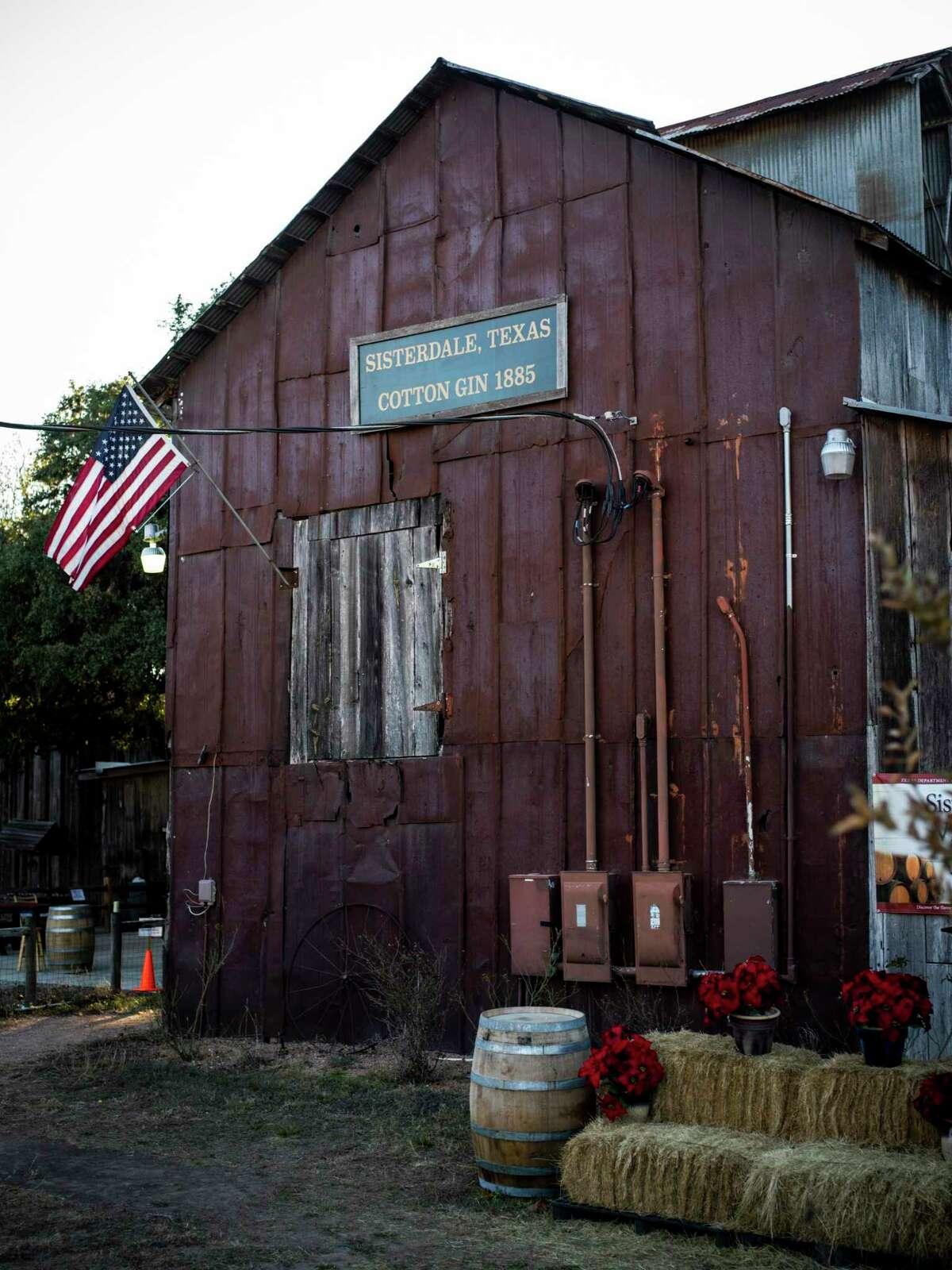 Sister Creek Vineyards in historic Sisterdale.