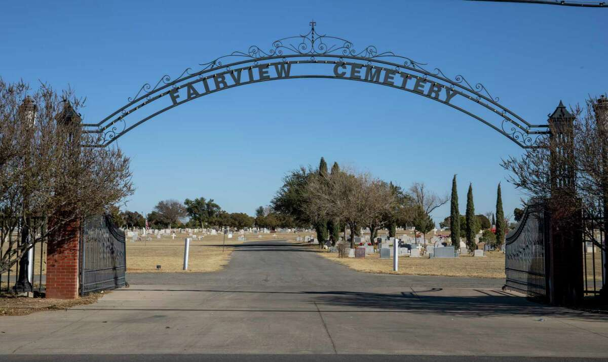 Fairview Cemetery as seen Tuesday, Dec. 8, 2020 at 1620 North A Street. Jacy Lewis/Reporter-Telegram