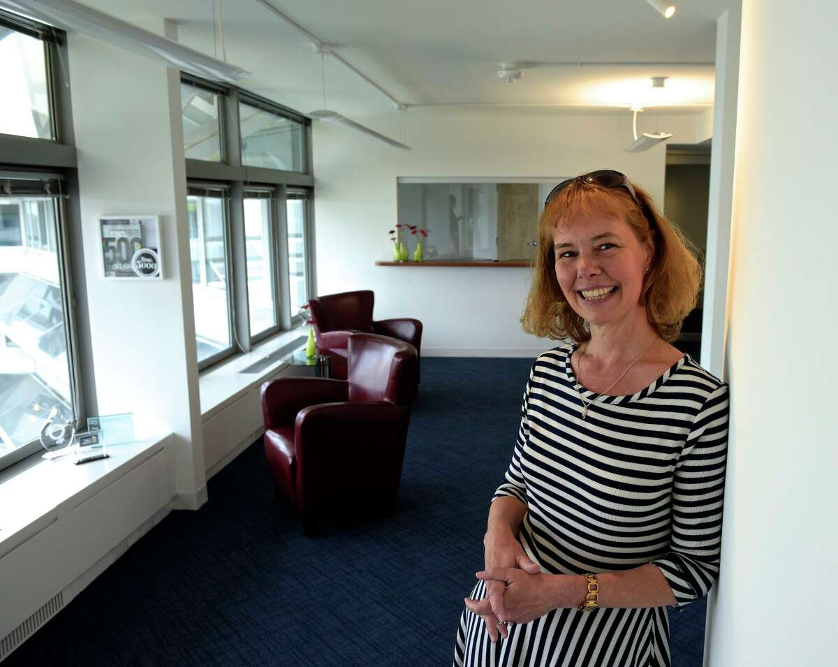 Christina Lampe-Onnerud, CEO of Cadenza Innovation, in their offices at The Summit at Danbury.