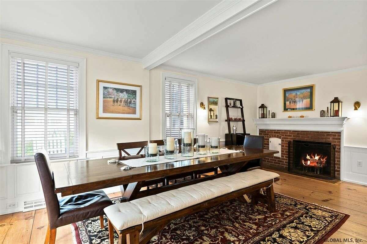 Scroll through the gallery below to take a look inside five homes for sale in the Capital Region, each featuring a beautiful formal dining room.