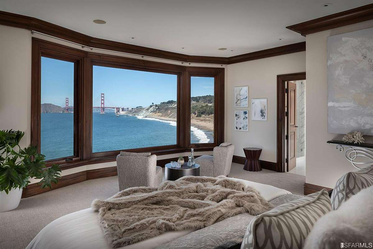 This 10,725-square-foot house at 190 Sea Cliff Ave. in San Francisco sold for $24 million on Nov. 12, 2020.