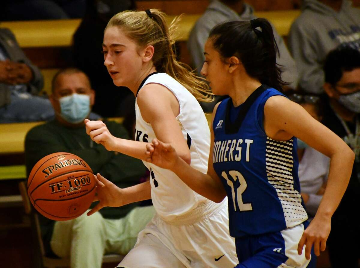 Cotton Center hosted a pair of teams in a basketball doubleheader at Cotton Center High School on Dec. 8, 2020. The Elks topped Loop 48-43 and the Lady Elks suffered a 32-17 loss to Amherst.