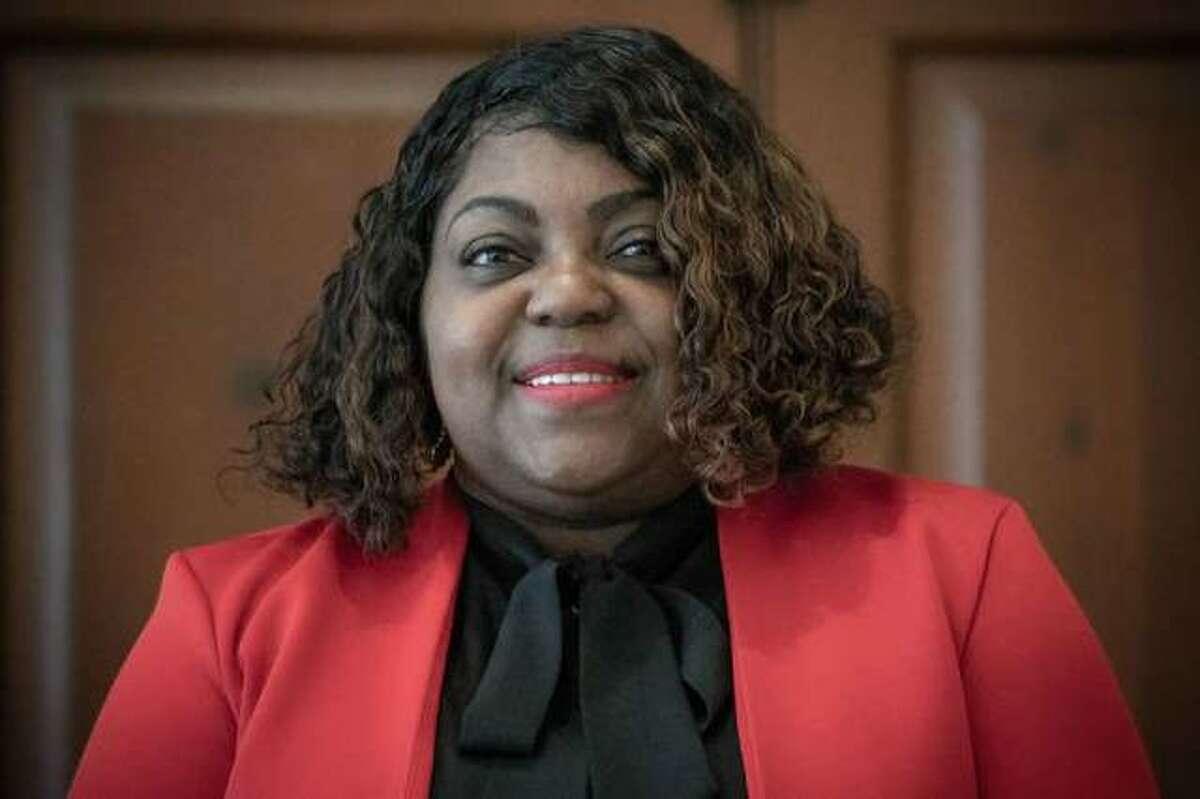 Yolanda Crochrell, a 14-year Edwardsville resident, is running for Ward 2 alderwoman in the spring municipal election. Crochrell, 53, is a 13-year resident of Ward 2.