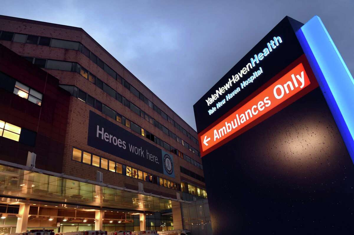 Yale New Haven Hospital photographed on November 30, 2020.
