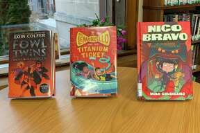 """""""Nico Bravo and the Cellar Dwellers"""" by Mike Cavallaro is a graphic novel about a magical store for mythical creatures. (Courtesy photo)"""