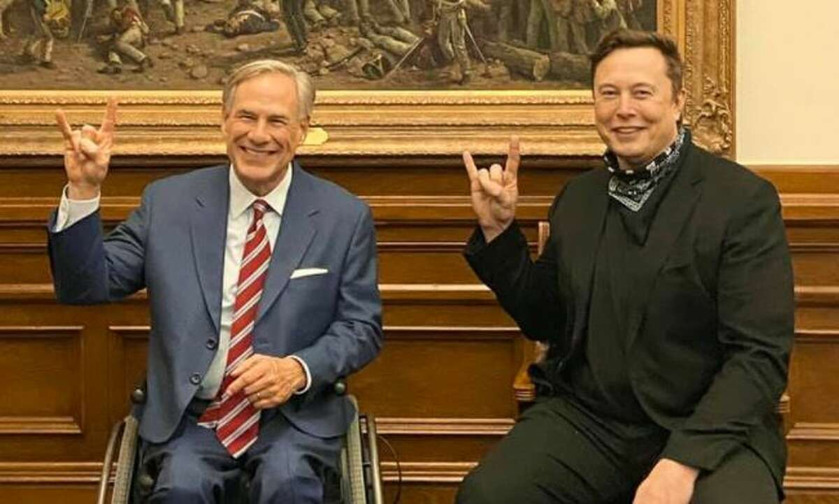 Gov. Greg Abbott and Elon Musk threw up a