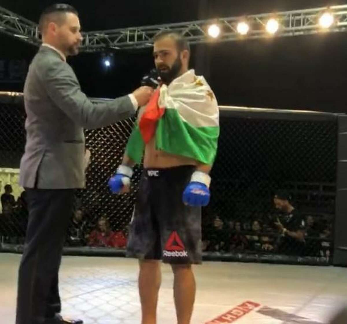 Jovidon Sorbon is a professional mixed martial arts fighter.