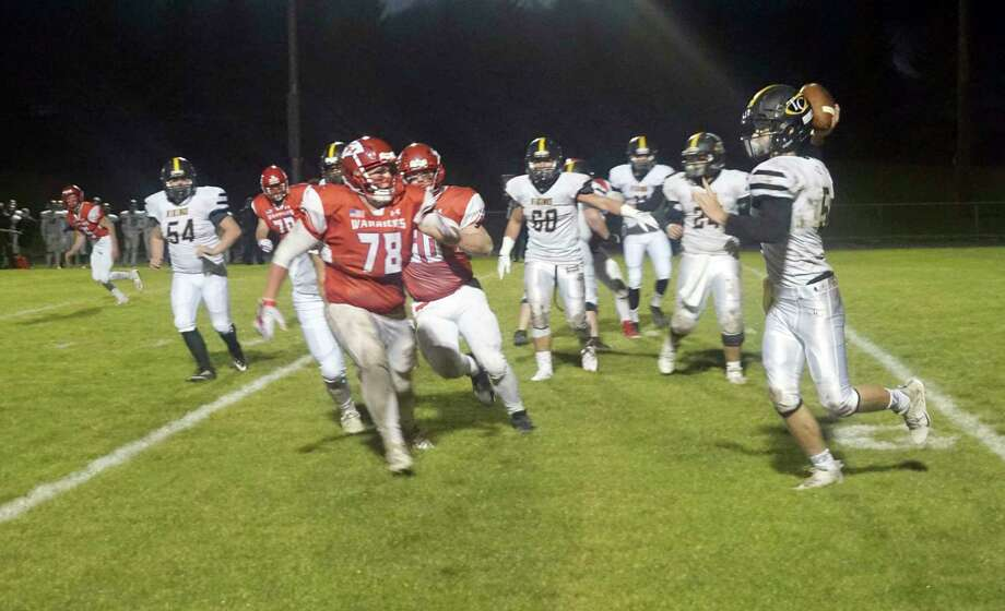 It is still unknown whether-or-not high school sports, such as football, will be able to finish or begin the 2020 season. (Pioneer file photo)